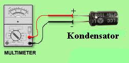 Cara Menguji Kapasitor (Kondensator)