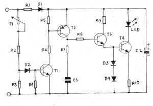 Gambar Skema Indikator Puncak Loud Speaker