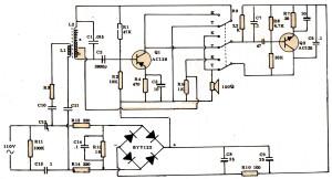 Gambar Skema Rangkaian Komunikasi Lewat Jaringan Listrik