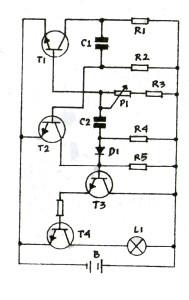 Gambar Skema Rangkaian Senter Otomatis