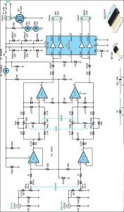 Gambar Skema Rangkaian Stereo Amplifier 20W 12V