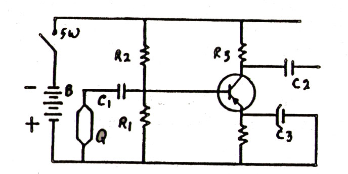 Gbr. Transistor Sebagai Penguat Suara