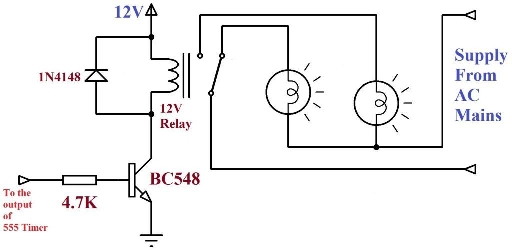 Rangkaian Lampu Disko Gambar Skema Rangkaian Elektronika