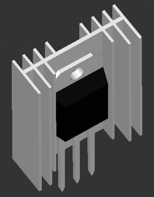 Plat Pendingin Transistor
