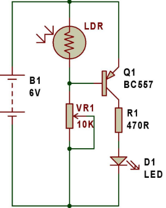 200 Adet Transistorlu Elektronik Devre Bedava Ebook moreover Metal Detector Circuit as well Luz a led de cortesia together with 28653 additionally 68396 Over Voltage And Low Voltage Protection Circuits Easy Home Projects. on simple led circuit with transistor