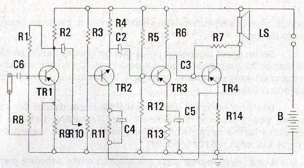 skema rangkaian las listrik sederhana dengan trafo inverter