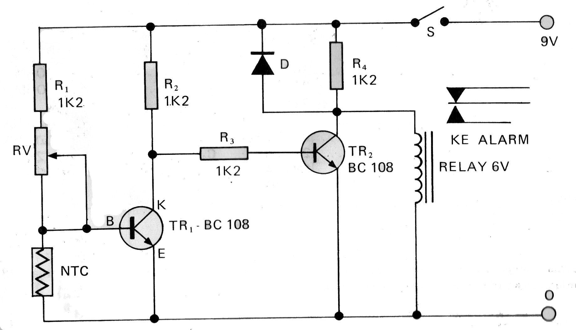 skema rangkaian elektronika rangkaian pengendali lu taman otomatis gambar skema